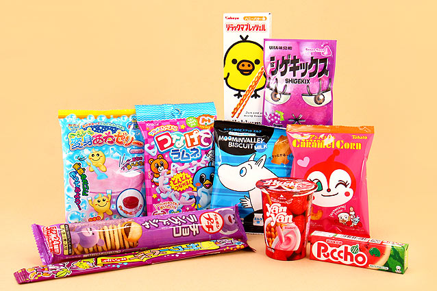 Japan Candy Box August 2015